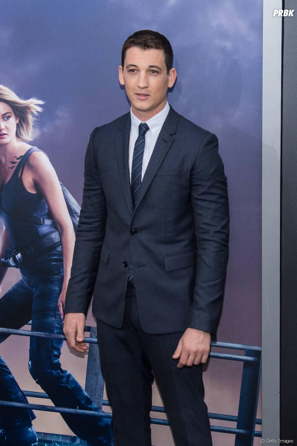 """Miles Teller também faz parte do elenco de """"A Série Divergente: Convergente"""""""