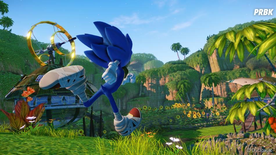 """novo """"Sonic Boom"""" terá elementos tradicionais"""