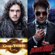 """Duelo """"Game Of Thrones"""" ou """"Demolidor"""": qual série tem o retorno mais aguardado?"""