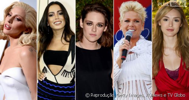 42d1bbdbe1b Lady Gaga, Anitta, Kristen Stewart, Xuxa, Isabelle Drummond e os ...