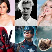 """Com Demi Lovato, """"Capitão América 3"""" e Sophia Abrahão: descubra se as fotos são clipes ou trailers!"""