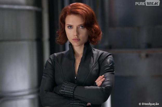Scarlett Johansson pode ganhar filme Viúva Negra