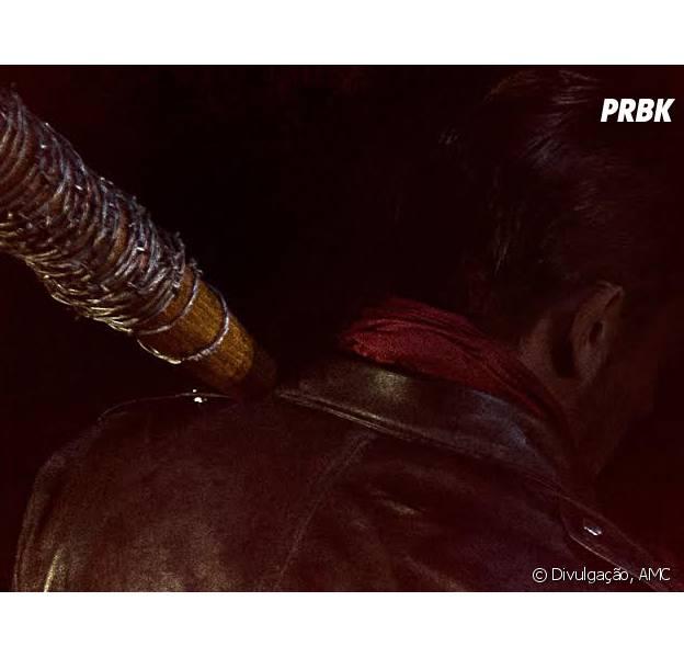 """Em """"The Walking Dead"""": Negan (Jeffrey Dean Morgan) aparece pela primeira vez em pôster!"""