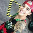 MC Gui está curtindo uns dias de férias dos palcos em Orlando