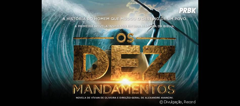 """A nova temporada de """"Os Dez Mandamentos"""" vai ao ar de segunda a sexta, na faixa das 20h30 da Record!"""