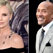 """De """"Velozes & Furiosos 8"""", Charlize Theron ganha boas-vindas de Dwayne Johnson: """"Amo essa mulher"""""""