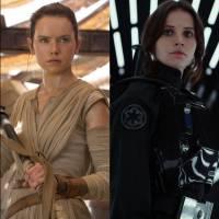 """De """"Star Wars"""": Daisy Ridley ou Felicity Jones? Qual a melhor mocinha da saga?"""