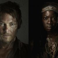 """Duelo """"The Walking Dead"""": Daryl ou Michonne? Quem é o mais """"fodão"""" no seriado?"""