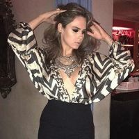 "Do ""BBB16"", Ana Paula prestigia Ludmilla na festa de aniversário da dona do hit ""Hoje"""