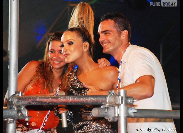 """No """"BBB 9"""", Ralf e Mirla foram curtir no trio elétrico de Cláudia Leitte!"""