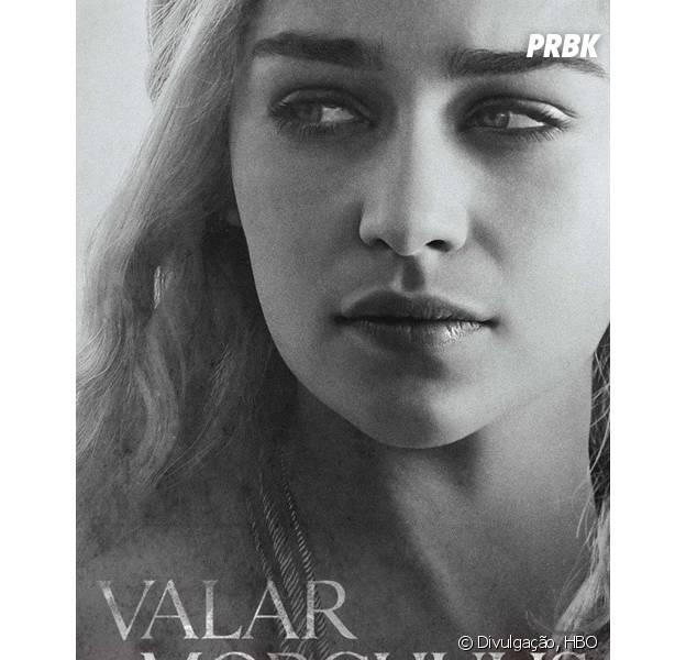"""Daenerys (Emilia Clarke) é um dos destaques dos novos pôsteres de """"Game of Thrones"""""""