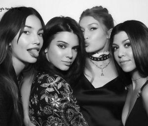 Gigi Hadid comemora aniversário de 21 anos com Kendall Jenner, Kourtney Kardashian e Lily Aldridge