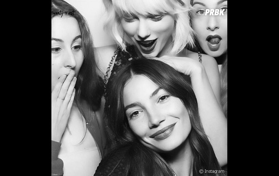 Na festa de aniversário de Gigi Hadid, Taylor Swift, Lily Aldridge e as meninas do HAIM posam juntas