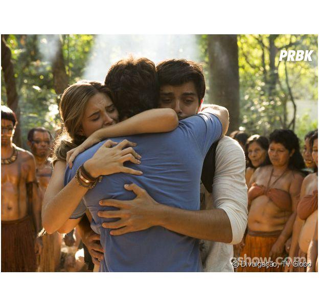 """Lili (Juliana Paiva), Marlon (Rodrigo Simas) e William (Thiago Rodrigues) se reencontrarão no centésimo episódio de """"Além do Horizonte""""!"""