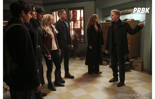 """Em """"Once Upon A Time"""",Hades (Greg Germann) pediu ajuda aos heróis para salvar Zelena(Rebecca Mader)"""