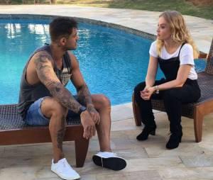 """Lucas Lucco mostrou tudo que rolou durante sua participação nas gravações do programa """"Estrelas"""", da Globo, em seu Snapchat"""