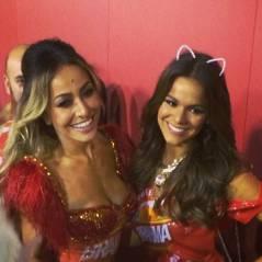 Bruna Marquezine curte Carnaval sem Neymar e ao lado de Sabrina Sato, no Rio