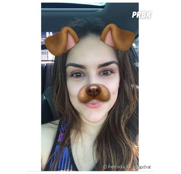 Kéfera está sempre ativa no Snapchat
