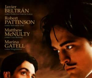 """Robert Pattinson também foi Salvador Dalí no cinema! O filme """"Poucas Cinzas"""" foi lançado em 2009"""