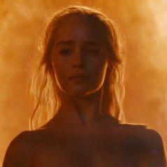 """De """"Game of Thrones"""": Emilia Clarke, a Daenerys, revela não ter usado dublê de corpo em cena nua"""