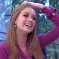 """De """"Totalmente Demais"""": Marina Ruy Barbosa e Juliana Paes vão ao """"Mais Você"""" e comentam fim da trama"""