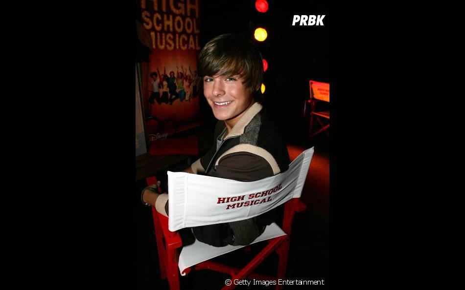 """Zac Efron divulgando primeiro """"High School Musical"""" em 2006"""