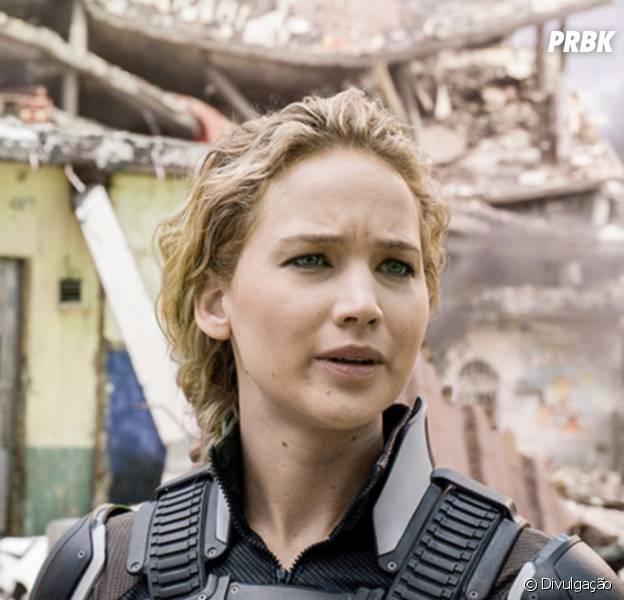 """Jennifer Lawrence interpreta a mutante Mística na franquia """"X-Men"""""""