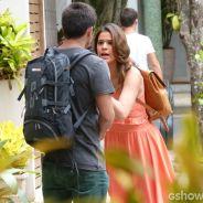 """Na novela """"Em Família"""", Luiza termina namoro com André por causa de Laerte"""