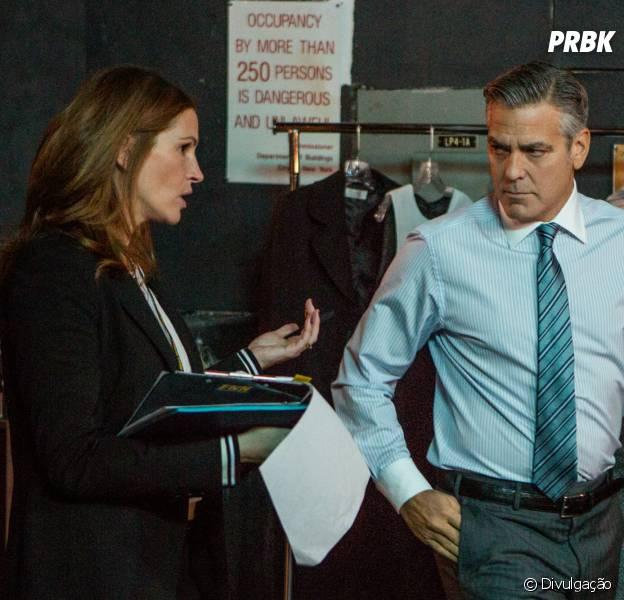"""George Clooney e Julia Roberts estrelam """"Jogo do Dinheiro"""""""