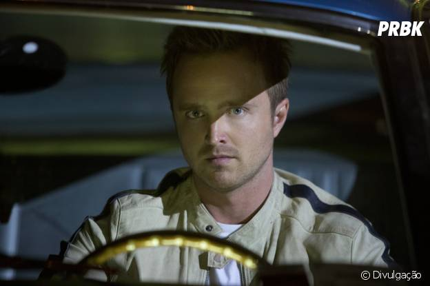 "Aaron Paul vive o protagonista Tobey Marshall em ""Need for Speed - O Filme"""