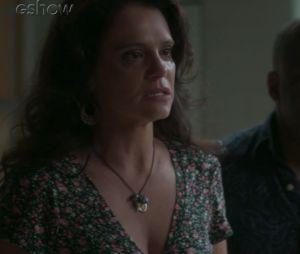 """Final """"Totalmente Demais"""": Eliza (Marina Ruy Barbosa) é acusada de ser responsável pela tragédia com Jonatas (Felipe Simas), pela mãe do rapaz"""