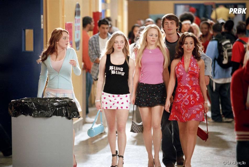 """""""Meninas Malvadas"""" é estrelado por Lindsay Lohan, Amanda Seyfried, Rachel McAdams e Lacey Chabert"""