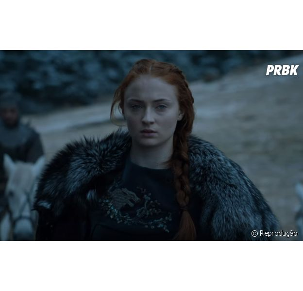 """Em """"Game of Thrones"""": Sansa Stark (Sophie Turner) aparece decidida em trailer de novo episódio!"""