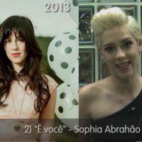 Sophia Abrahão cumpre desafio e escolhe um hit para cada fase da carreira!