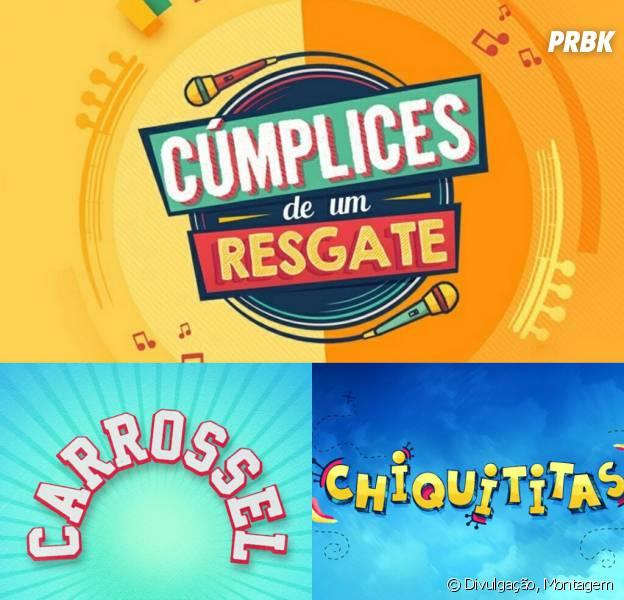 """Do SBT: as novelas """"Cúmplices de Um Resgate"""", """"Carrossel"""" e """"Chiquititas"""" continuem em alta!"""