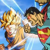 """E se o Superman e o Goku, de """"Dragon Ball Z"""", se enfrentassem? Quem sairia vencedor desse duelo?"""