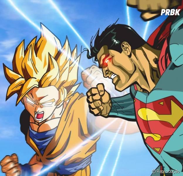 Quem sairia campeão de uma luta entre Goku e Superman?