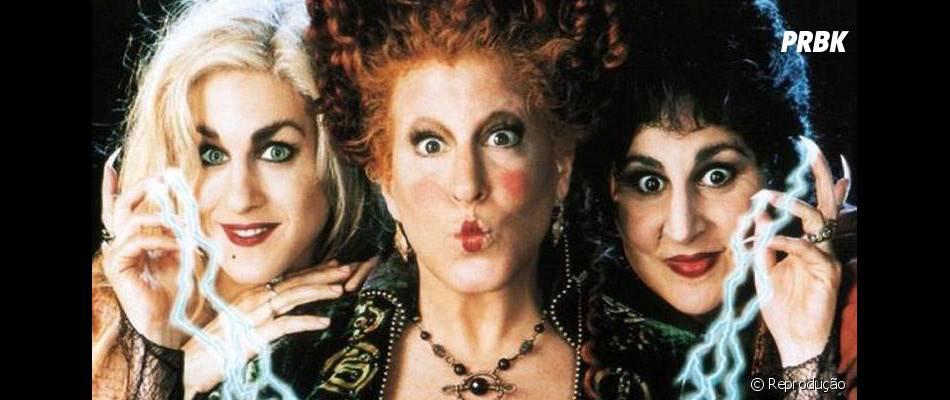 """Bette Midler, Sarah Jessica Parker e Kathy Najimy são as bruxas de """"Abracadabra"""""""
