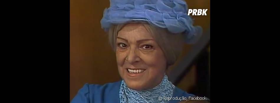 """Menção Honrosa para Dona Clotilde, a Bruxa do 71, que assombrava os moradores da vila de """"Chaves""""!"""