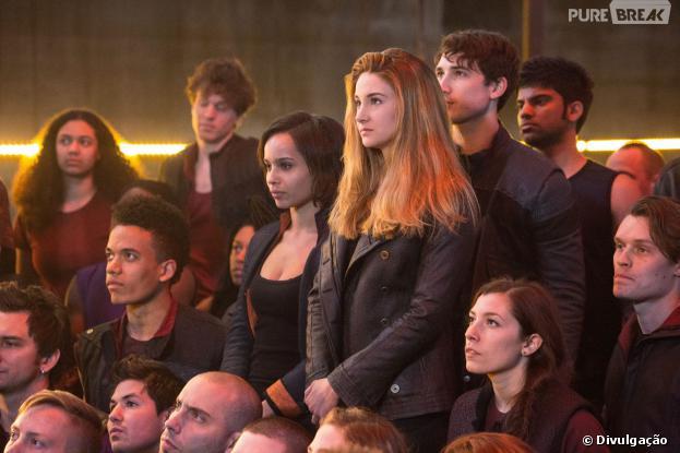 """Shailene Woodley é a protagonista Beatrice de """"Divergente"""""""