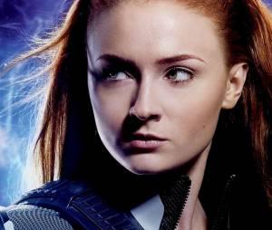 """Jean Grey (Sophie Turner), de """"X-Men: Apocalipse: a poderosa, sabe tudo, tem cara de boazinha, mas nervosa vira o bicho"""