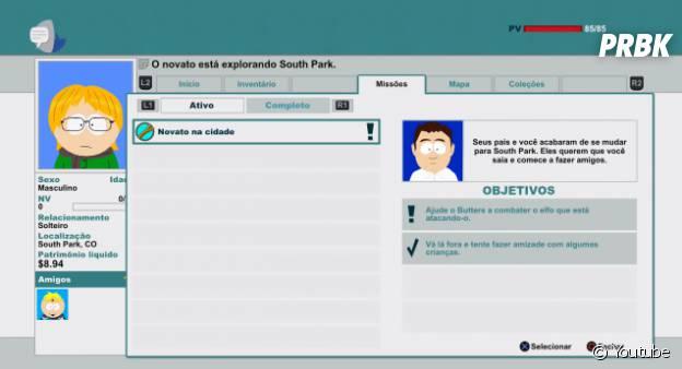 """O guia de missões de""""South Park: Stick Of Truth"""""""