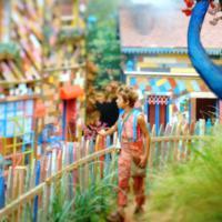 """Em """"Meu Pedacinho de Chão"""": Cidade cenográfica colorida será palco da história"""