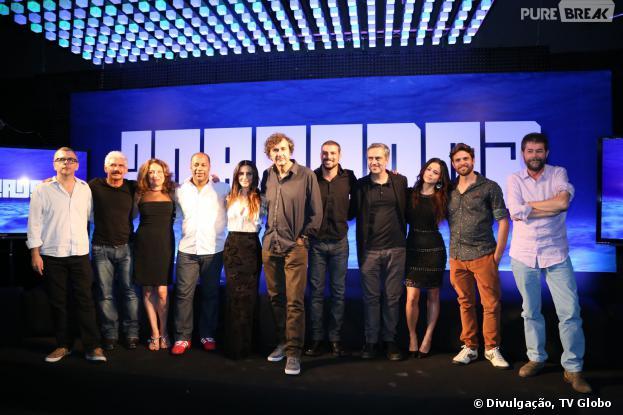 """A minissérie """"O Caçador"""" está prevista para ir ao ar na Globo em abril e conta com os atores: Cauã Reymond, Alejandro Claveaux e Cleo Pires"""