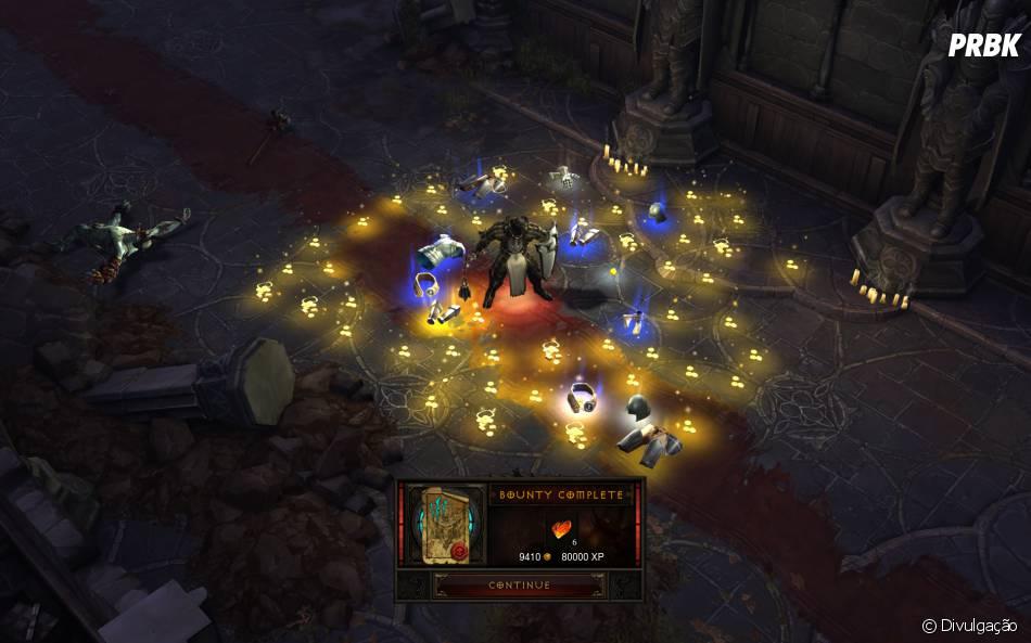"""Novo sistema de Loot. Menos drops e melhor qualidade em """"Diablo III"""""""