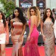 Que arraso! Fifth Harmony rouba a cena no tapete vermelho do2016 MuchMusic Video Awards2