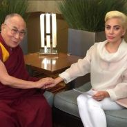 Lady Gaga proibida na China? Após encontro com Dalai Lama, repertório da cantora é excluído do país