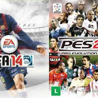 Duelo: Qual o melhor game de esporte: PES 2014 ou FIFA 14