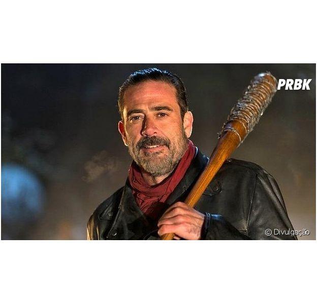"""Em """"The Walking Dead"""", ator afirma que sabe quem foi a vítima de Negan (Jeffrey Dean Morgan)!"""