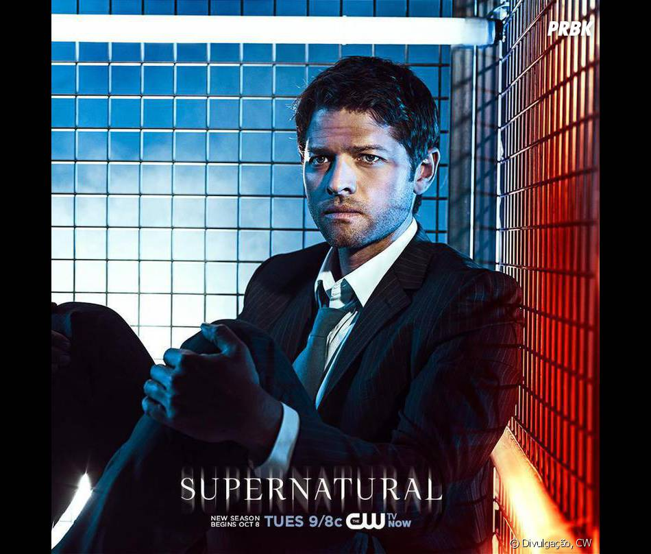 """Castiel (Misha Collins) tentará se adaptar à vida como humano em """"Supernatural""""!"""
